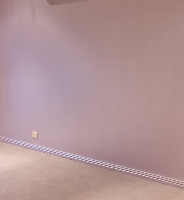 before styling pink bedroom